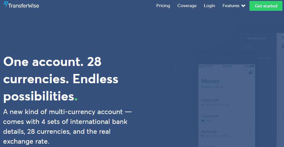 transferwise borderless account helps you decrease paypal fees